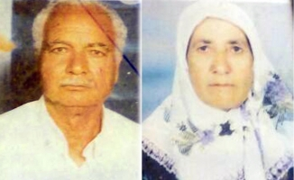 Yaşlı karı koca aynı gün öldü