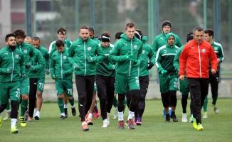 Yeşil Beyazlı takım Rizespor maçının hazırlıklarına başladı