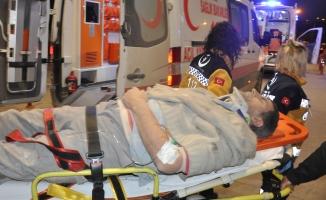 Yük asansörü yere çakıldı: 2 yaralı