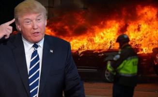 Başkanlık olaylı başladı! ABD yanıyor...