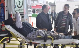 Bursa'da tavukhane çatısı çöktü!
