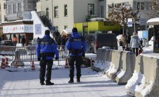 Davos'ta terör alarmı!