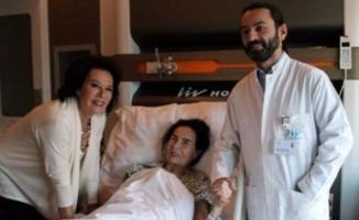 Türk sinemasının efsane oyuncusu hızla iyileşiyor