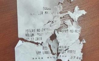 Parçalanmış kredi kartı slipinden katil zanlısı yakalandı!