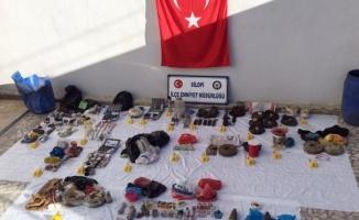 PKK'ya ait çok sayıda mühimmat ele geçirildi