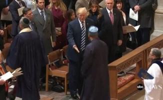 Trump'a Kur'an okuyan imam o anları anlattı!