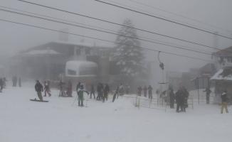 Uludağ'da yoğun sis etkili oluyor!
