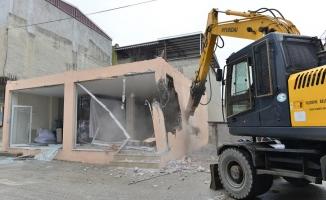 Bursa'da yıkım çalışmaları sürüyor!