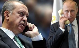 Putin'den Erdoğan'a flaş telefon!