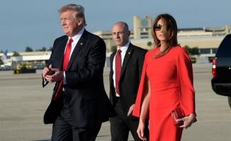 Melanie Trump'a eşi Donald Trump'tan şok