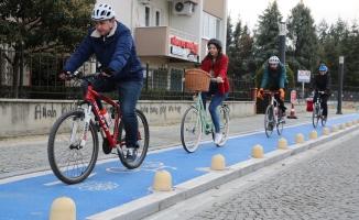Nilüfer Belediyesi bisikletlerini bekliyor