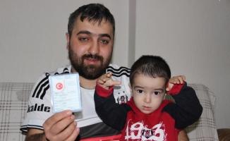 Oğluna Beşiktaş adını koydu!