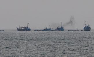 Sri Lanka'da tekne alabora oldu! 10 ölü