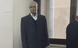 Adliye koridorunda şaşırtan görüntü!