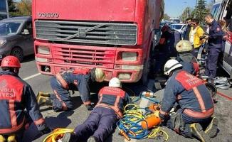 Aynı gün içinde iki kez hafriyat kamyonu dehşeti!