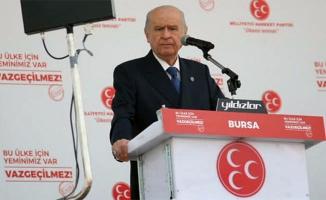 Bahçeli'den Bursa'da referandum mesajı!