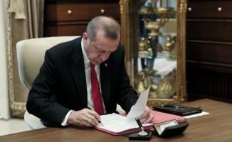 Cumhurbaşkanı Erdoğan'dan 47 kanuna onay
