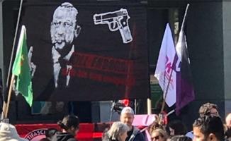 Erdoğan'dan skandal pankarta sert tepki!