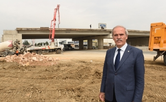 Bursa'da merkez trafiğinin yükü azalıyor