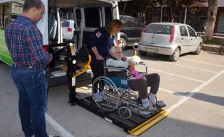 Bursa'daki engelliler böyle oy kullandı