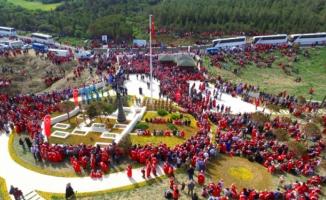 Bursalılar'dan Çanakkale Şehit'lerine vefa örneği