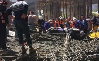 Cami inşaatı çöktü! 3 ölü