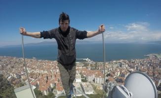 Çılgın gençler Bursa'da ölüme böyle meydan okudular