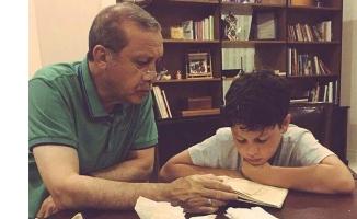 Erdoğan'ın bu fotoğrafı sosyal medyada günün konusu oldu