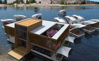 Fırat Nehri 'Yüzen oteller' ile hareketlenecek