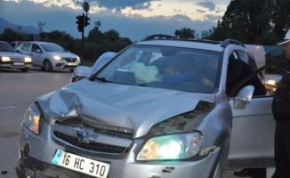 Bursa'da kadın sürücüler ölümden döndü!