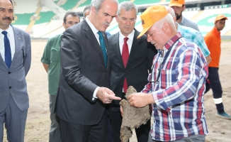 Altepe, Büyükşehir Belediye Stadyumunu inceledi