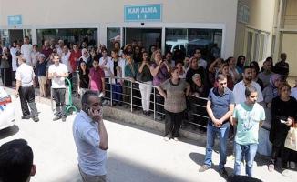 Bitlis şehidi hastaneden gözyaşlarıyla uğurlandı!