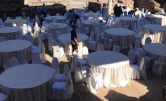 Skandal iddia! Efes Antik Kenti'nde sünnet düğünü yapıldı