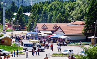 Uludağ'a Ramazan Bayramı'nda rekor ziyaretçi!