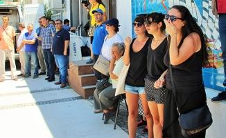 Depremde hayatını kaybeden Kurtoğlu'na gözü yaşlı karşılama