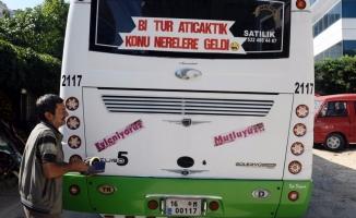 Bursa'da otobüste tanışan çiftten sıra dışı düğün