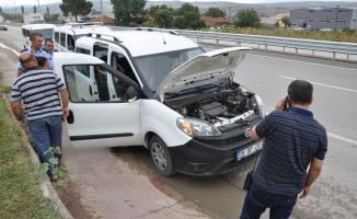 Bursa'da hırsızlıktan aranan araçta kalbine yenildi
