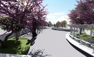 Bursa İnegöl'e modern meydan parkı