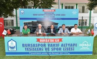 Bursaspor'un geleceğine dev yatırım