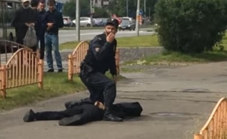 Rusya'da bıçaklı saldırı! Çok sayıda yaralı var