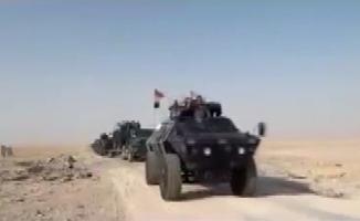 Telafer'e askeri sevkıyat