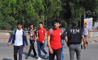 Bursa'da polis okulların çevresinde kuş uçurtmuyor