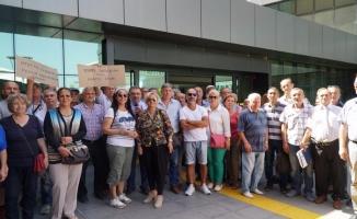 Bursa'da vatandaşlardan kentsel dönüşümün durdurulmasına tepki!