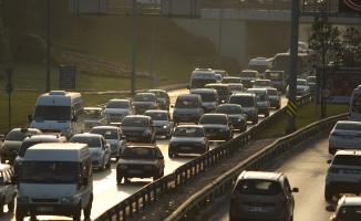 Bursa'da okul trafiği yoğunluğu