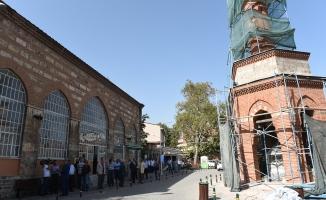 Bursa'da şadırvanlı minare restore ediliyor