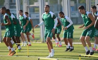Bursaspor'da Batalla ve Kembo takımdan ayrı çalıştı