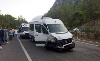 Marmaris'te feci kaza! Çok sayıda yaralı