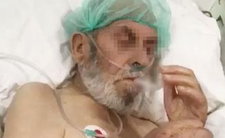 Özel hastanede skandal görüntüler! Yoğun bakım hastasına...