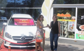 Özhan'da Mercedes A180 sahibini buldu