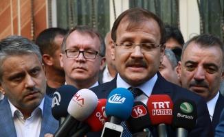 Başbakan Yardımcısı Çavuşoğlu'ndan Bursa'da 'istifa' açıklaması!
